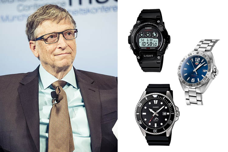 Bill Gates' Watch Collection Cover