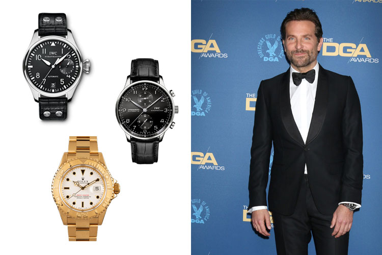 Bradley Cooper's Watch Collection Cover