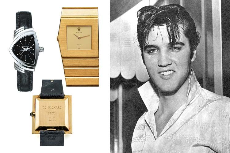 Elvis Presley's Watch Collection Cover