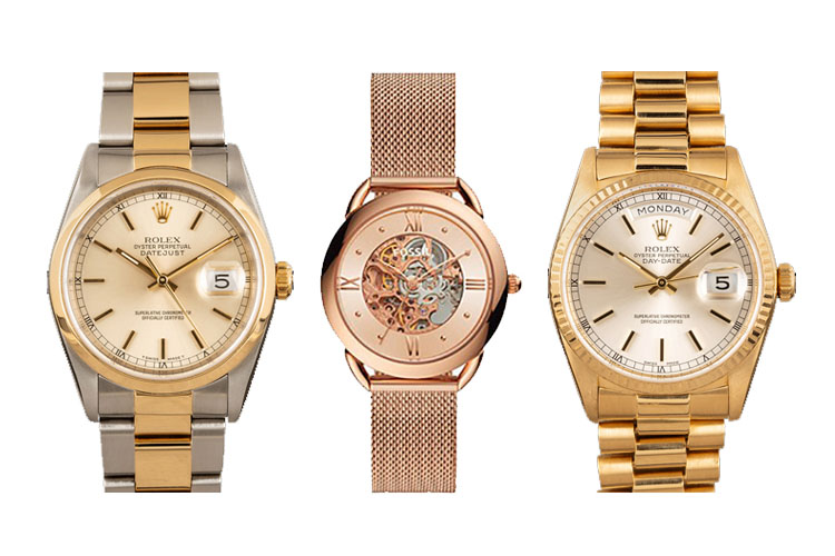 Rose Gold vs. Yellow Gold Watches Cover