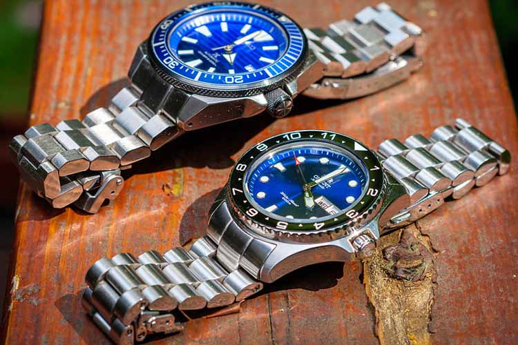 Seiko and Orient dive watches Cover