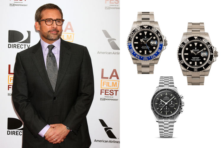 Steve Carell's Watches (On & Off Screen) Cover