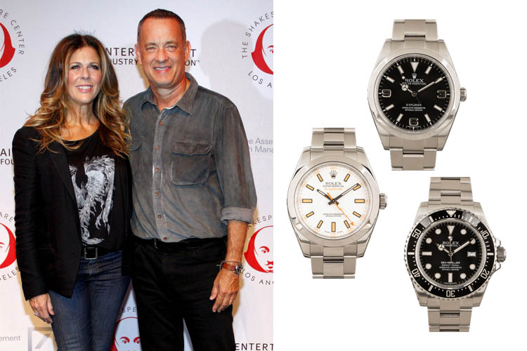 Tom Hanks' Watch Collection Cover
