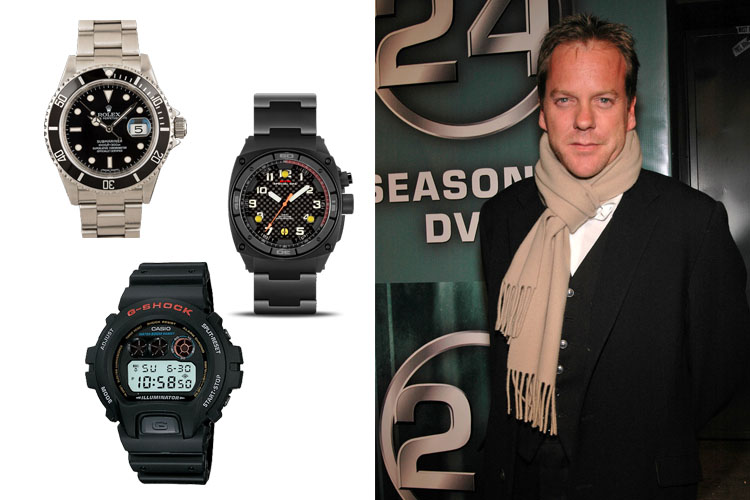 Watches Worn on 24 - Jack Bauer - Kiefer Sutherland Cover
